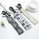 Stainless Steel Metal Drinking Straw Spoon Set Reusable Straws Fork Chopsticks Brush Kit