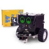 Yahboom Omibox Programmable Robot Kit for Kids Based on Scratch 3.0 for Arduino STEAM Education DIY Toy Car with Tutorial