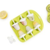 QUANGE LS010102 Home Kitchen Ice Cube Tray Little Whale Shape Ice Mold 6 Hole Food Grade Pudding Mold