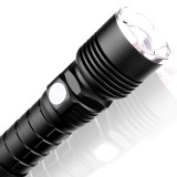 XANES P515-1 XHP 50 Flashlight 5 Modes Waterproof USB Chargeable Zoomable Work Lamp Camping Hunting Torch Light