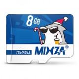 Mixza Christmas Shark Limited Edition 8GB U1 Class 10 TF Micro Memory Card for DSLR Digital Camera TV Box MP3