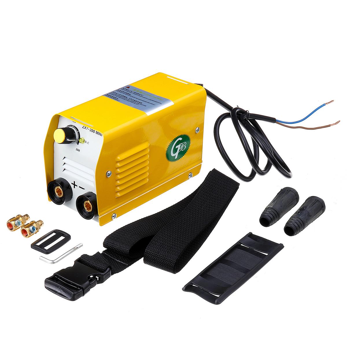 ZX7-200 miniGB 200A Mini Electric Welding Machine IGBT DC Inverter ARC MMA Stick Welder