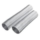 100mm Dia Flexible Aluminium Vent Hose Air Ventilation Exhaust Dust 1m/1.5m Long