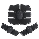 6pcs Electric Muscle Training Gear Abdomen Shoulder Sticker Body Exercise Shape Fitness Tools Kit