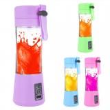 Portable Electric Juice Cup USB Electric Fruit Juicer Handheld Smoothie Maker Juice Cup USB Blender Charging Cable