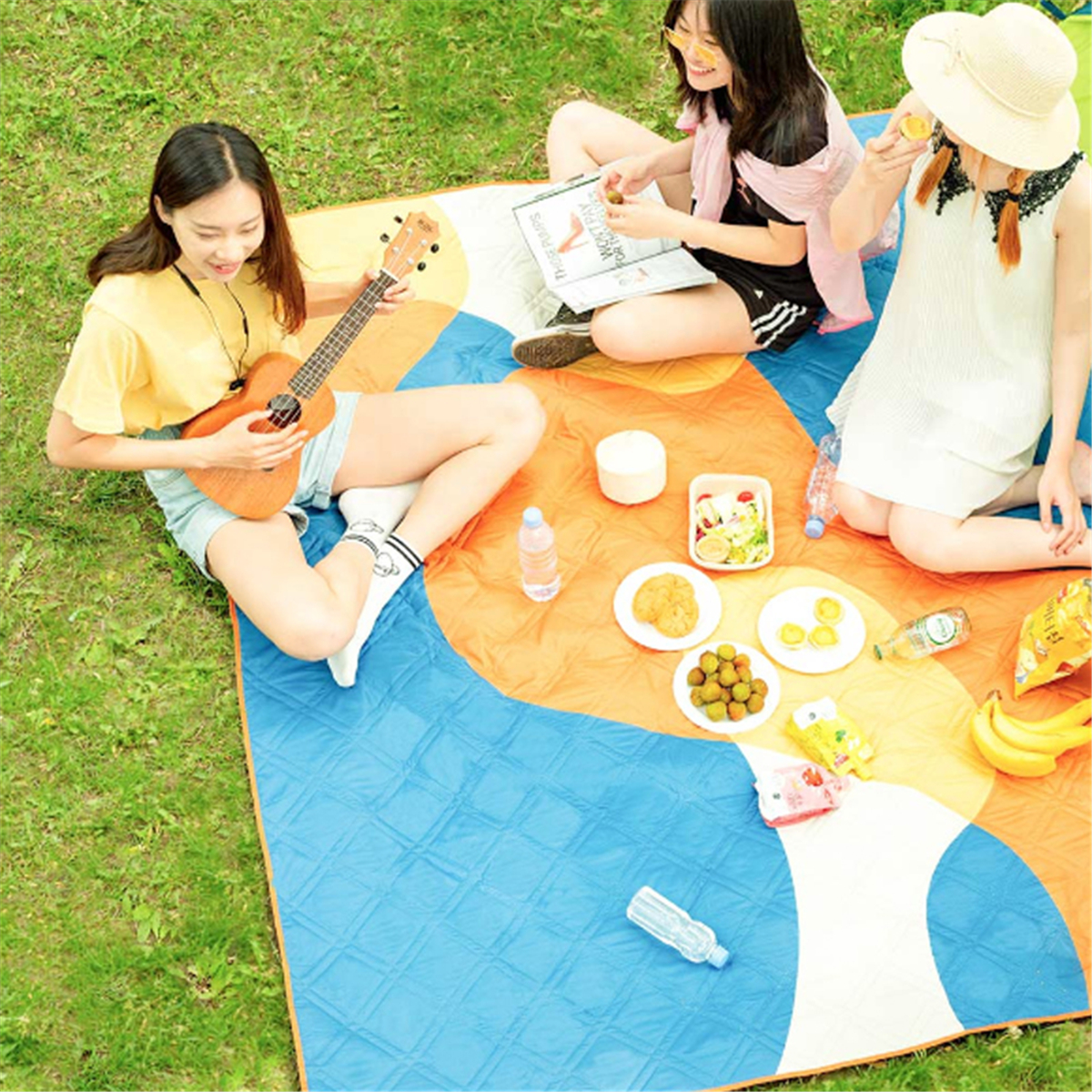 ZENPH 2x1.8m Picnic Mat Folding Moisture Proof Waterproof Blanket Beach Pad Outdoor Camping from xiaomi youpin