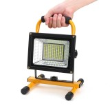 800W 170 LED Portable Camping Flood Light Rechargeable Spot Work Outdoor Lamp