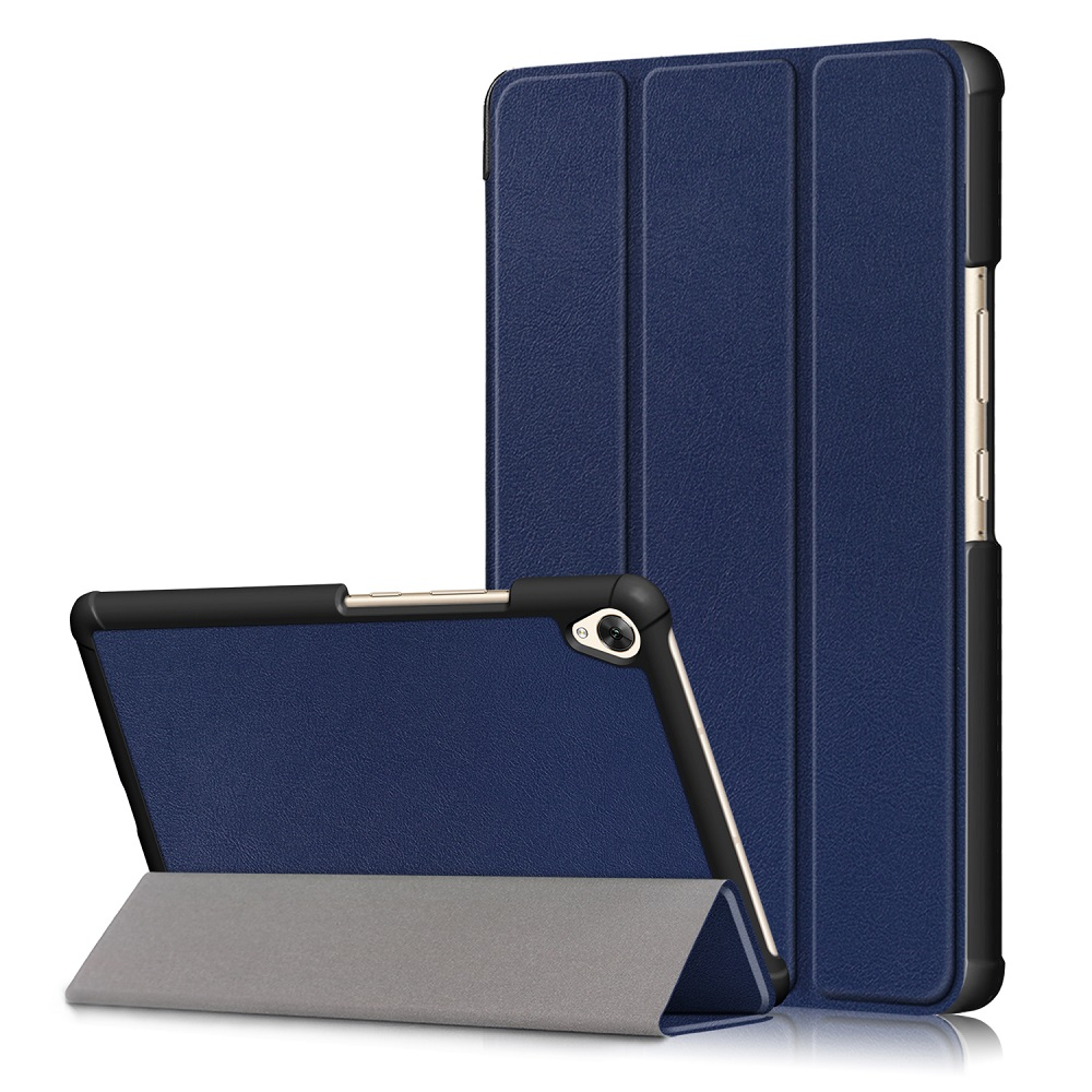 Tri Fold Stand Case Cover For 8.4 Inch Huawei Mediapad M6 Tablet