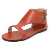 Large Size Women Roman Casual Comfortable Flat Sandals