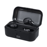 Portable TWS Wireless bluetooth 5.0 Earphone Noise Cancelling 3500mAh Power Bank Earbuds Headphone with Mic