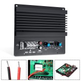 12V 600W 3D Crystal Power Input Car Audio Subwoofer Amplifier Board Player