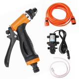 70W 12V Portable Electric High Pressure Car Washer Self-priming Pump