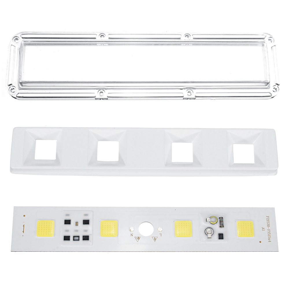 High Power 50W LED COB Light Chip with Waterproof Lens for DIY Flood Spotlight AC180-240V