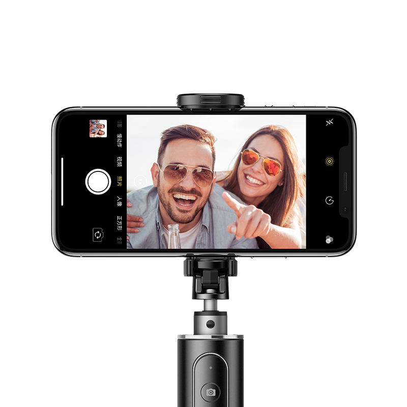 Letspro LY-11 3 in 1 Handheld Tripod Self-Portrait Monopod Extendable Selfie Stick with Remote Shutter for Smartphones GoPro Sports Cameras Durable Digital Cameras
