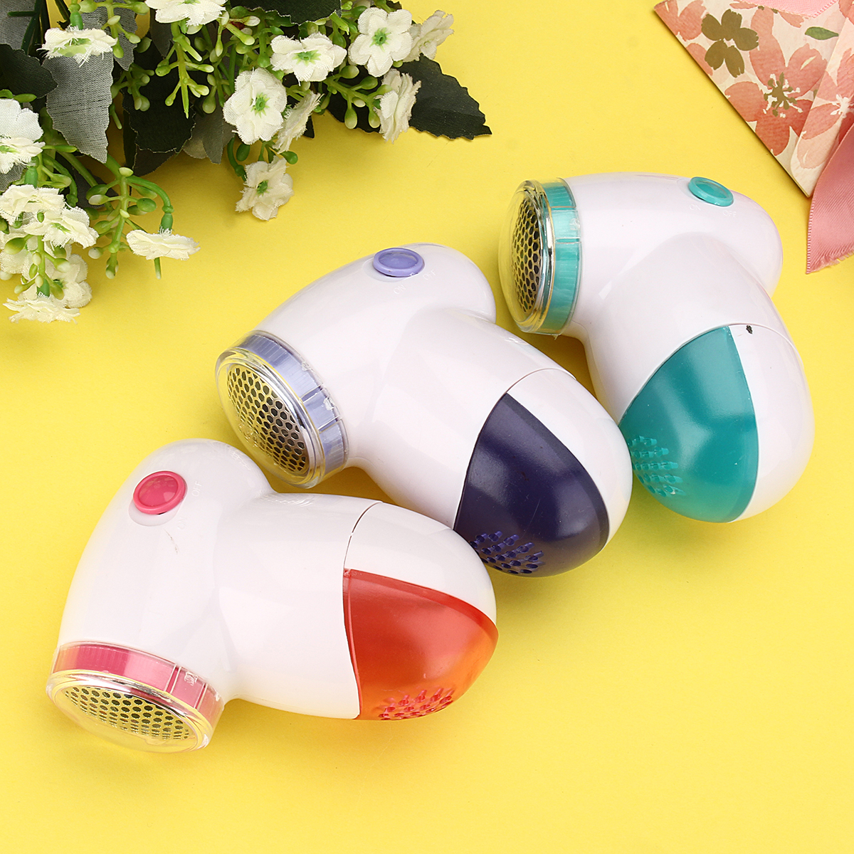 Electric Clothes Lint Pill Fluff Remover Fabrics Sweater Fuzz Shaver