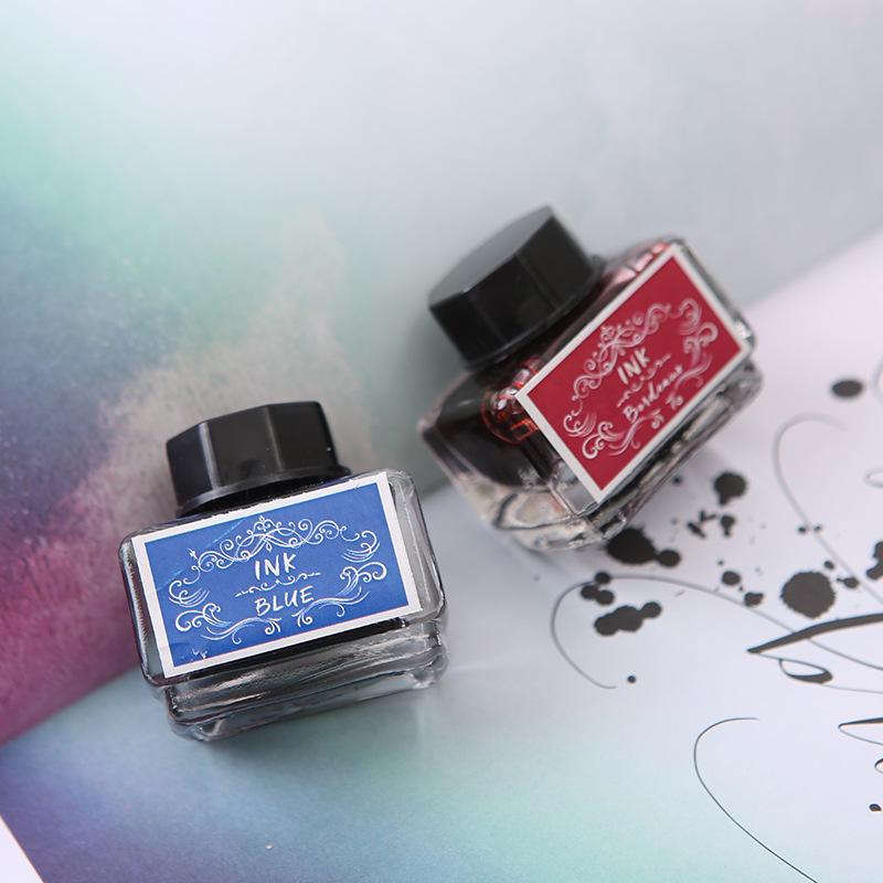 SP062 10 colors/Set ink Non-carbon Ink Set Fountain Pen Ink Drawing Comic Pen Ink 15ML/Bottle