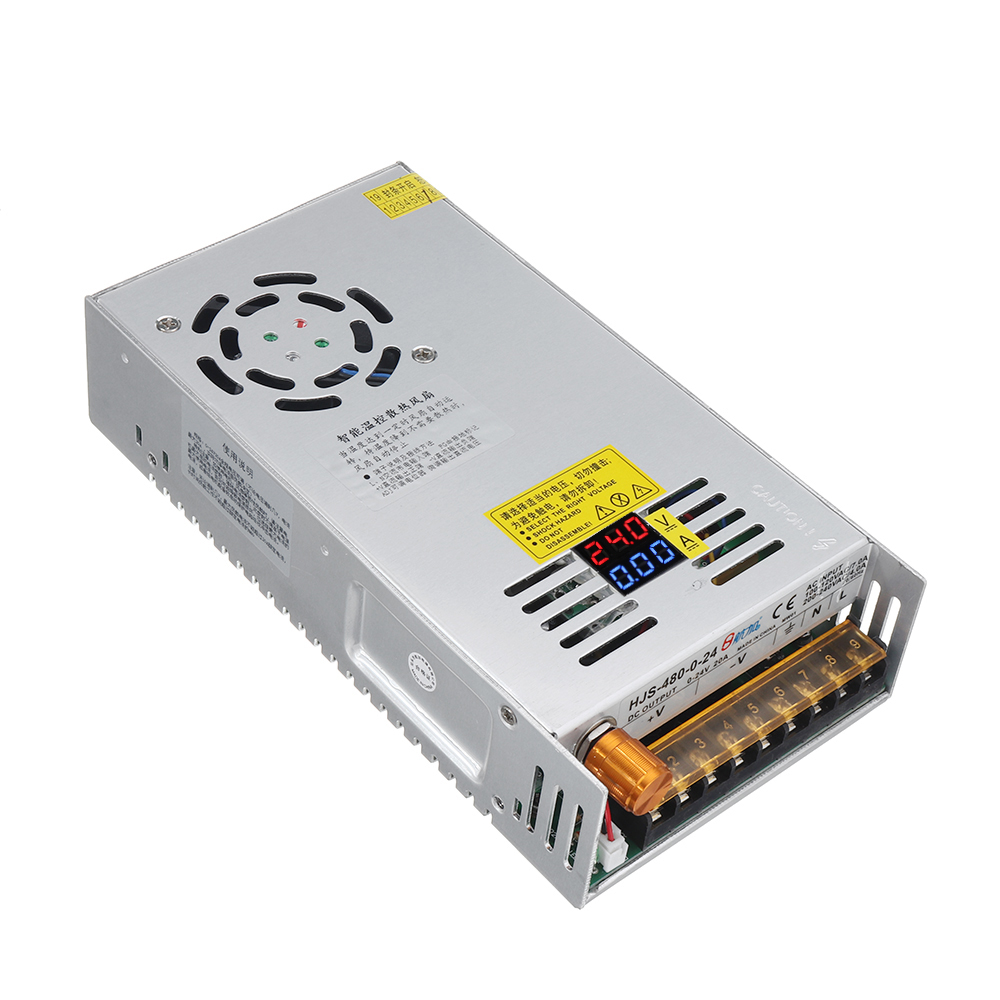 AC110//220 to DC 0-24V//48V Current Voltage Adjustable Switching Mode Power Supply