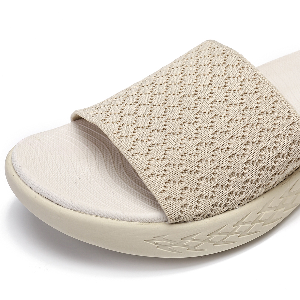 Lostisy Women Beach Mesh Comfortable Lightweight Slippers