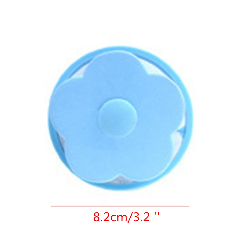 Washing Machine Hair Lint Remover Cleaning Bag Laundry Ball Filter Catcher Tool