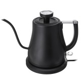 Electric Stainless Gooseneck Pour Coffee Maker 0.8L / 900W Kettle Pot Temperature Control Electric Kettle