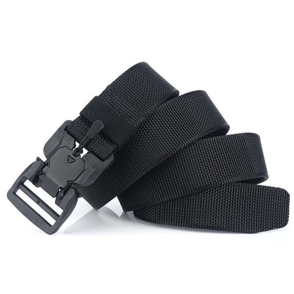 AWMN MB19 125cm x 3.8cm Military Tactical Belt Adjustable Nylon Belt Waist Belt Polyester Magnetic Buckle