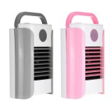 3 Gears Mini Air Cooling Fan USB Portable Air Conditioner Desk Table Fan Bluetooth/Broadcast