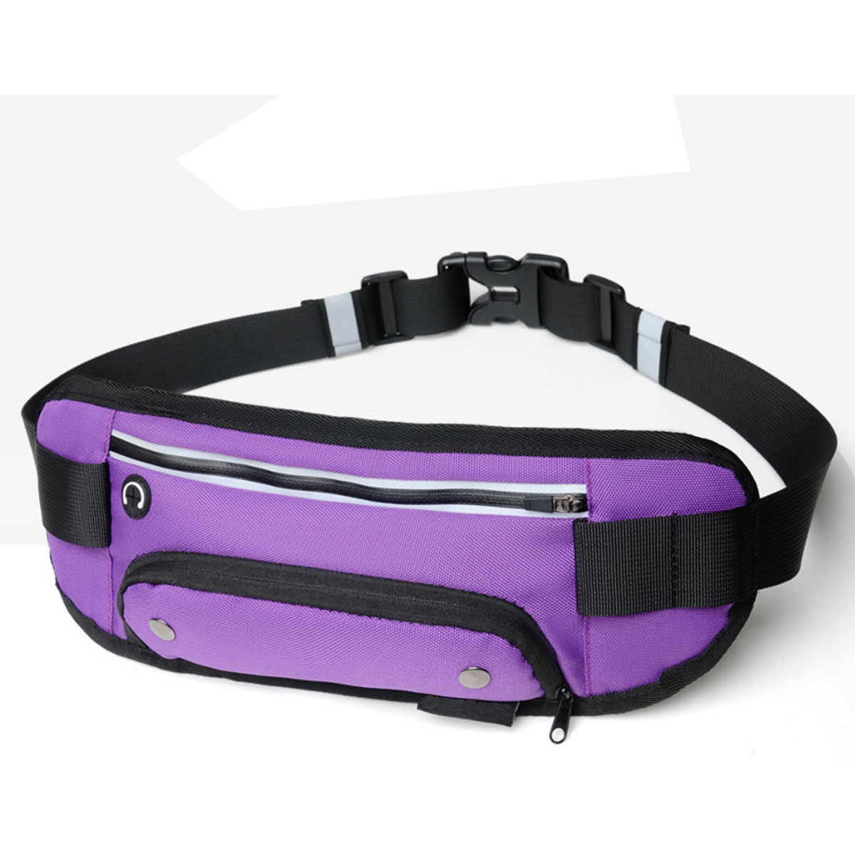 Outdoor Sports Waist Bag Phone Bag Crossbody Bag With Bottle Holder For Running Hiking Climbing