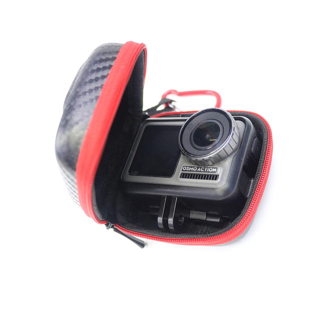 EVA Waterproof Storage Bag Mini Portable HandBag Camera Bag for DJI OSMO Action GoPro Hero5/6/7 SJCAM Camera