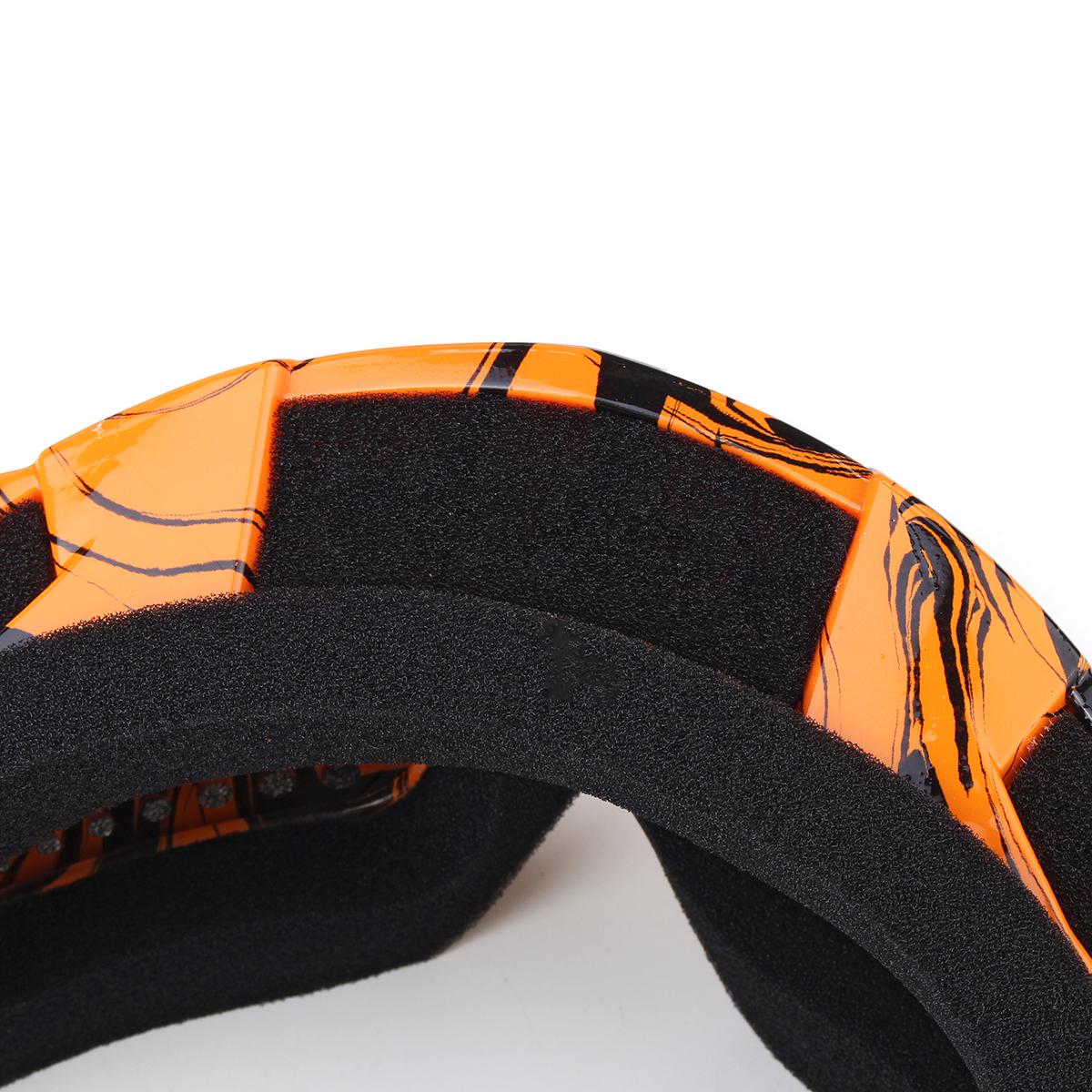 Detachable Motorcycle Ski Goggles Anti Radiation UV Protection Windproof Riding Glasses