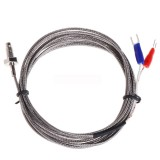 Thread M6 Screw Probe Temperature Sensor Thermocouple K Type Cable 2M 0-600 Degree