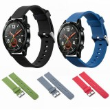 Bakeey 20mm Replacement Silicone Stainless Steel Buckle Watch Band Strap for Huawei Watch GT Smart Watch
