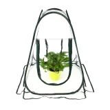 Foldable Greenhouse Kit Clear PVC Cover Flower Mini Gardening Plant Planting Grow Box