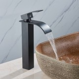 1/2 Inch Brass Modern Bathroom Basin Faucet Bathroom Spout Faucet Hot & Cold Water Mixer Tap Single Handle
