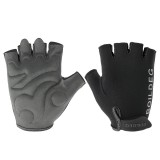 BOODUN Half-Finger Riding Glove Outdoor Motorcycle Riding Cycling Protective Finger Gloves-M/L/XL