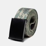 160cm Nylon Waist Leisure Belts Zinc Alloy Tactical Belt Quick Release Inserting Buckles Belts