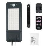 60 LED Remote Control Solar Wall Lamp Waterproof PIR Motion Sensor Street Light Garden Outdoor Light