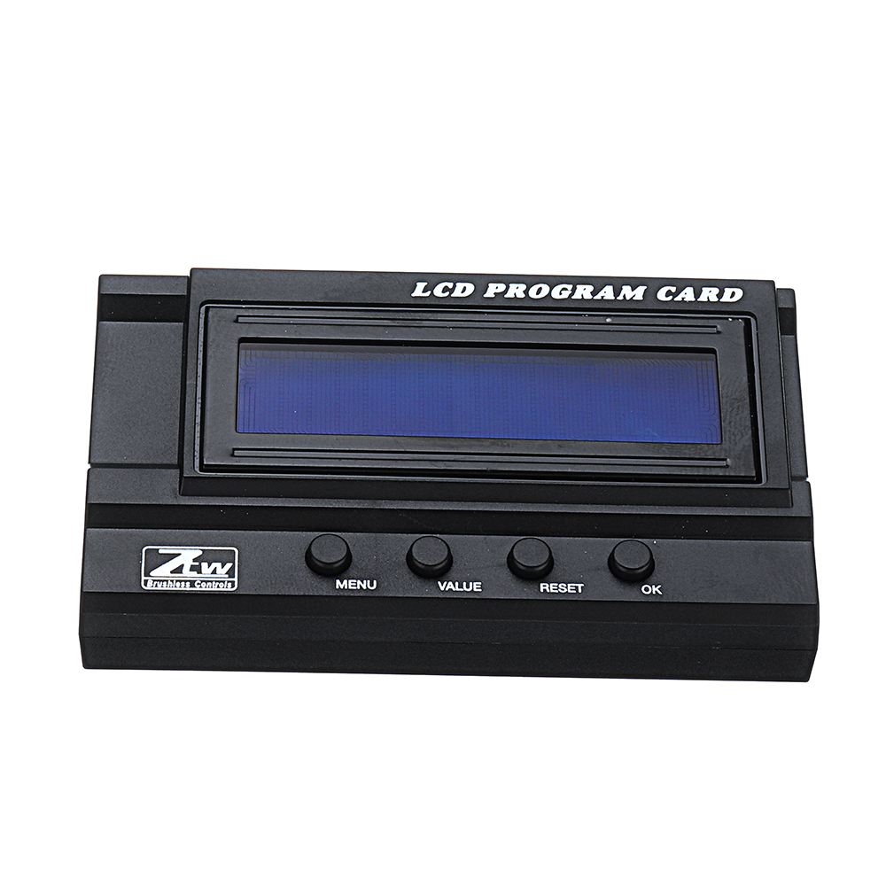 ZTW LCD Program Card for Beast Series 1/5 Rc Car Brushless Electronic Speed Control
