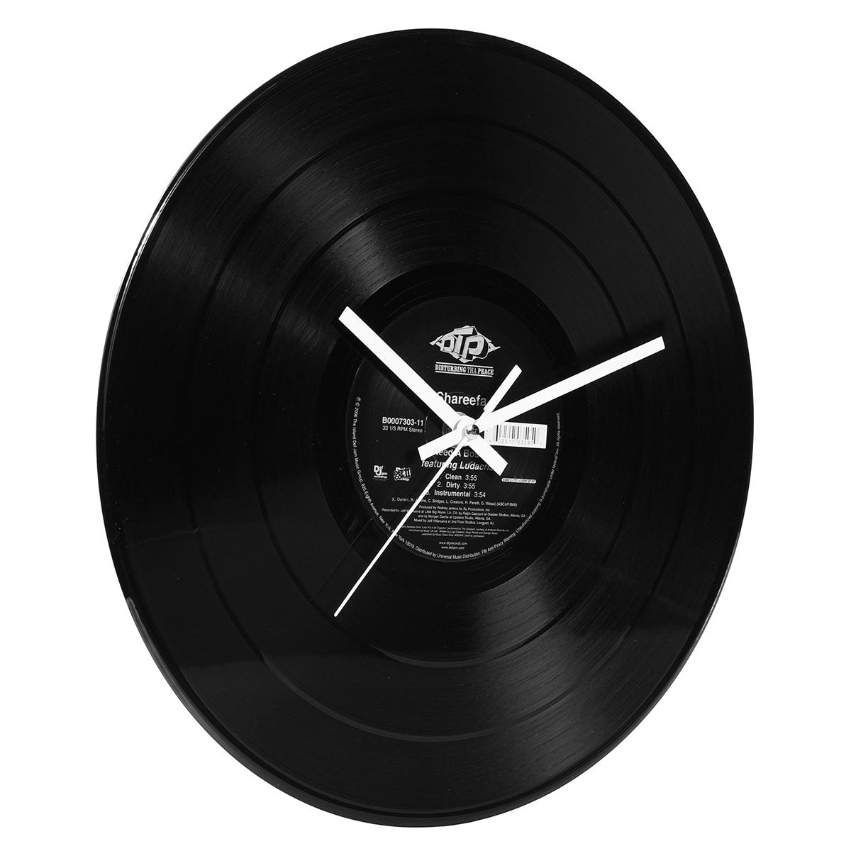 12 Inch Retro Classic Vinyl phonograph Record Album Wall Clock Home Decor Gift