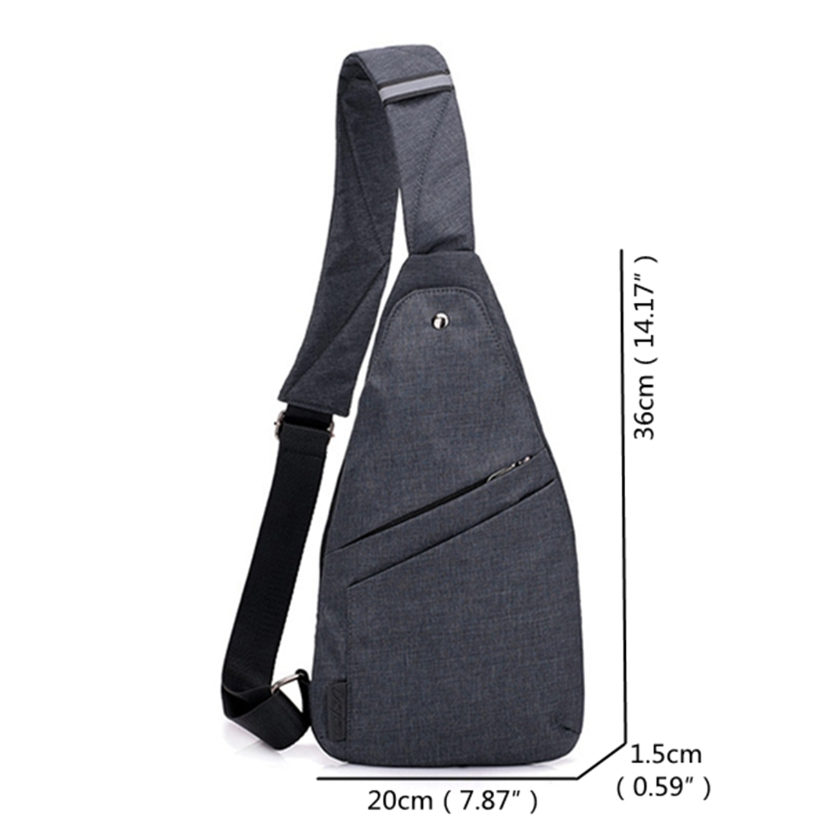 Oxford Anti-theft Water Resistant Outdoor Travel Sling Bag Chest Bag Crossbody Bag For Men