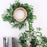 67″ Artificial Willow Vines Plant Greenery Garland Wreath Leaves Hanging Wedding Decor Supplies