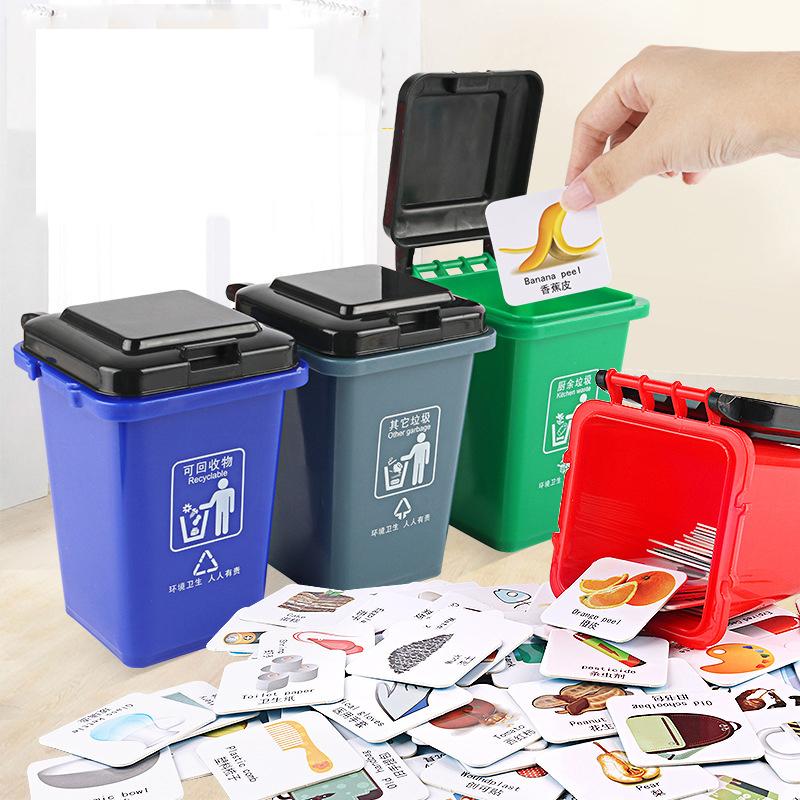 Kitchen Cabinet Door Basket Hanging Trash Can Waste Bin Garbage Rack Novelty HK