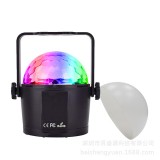 Upgrade Mini 6 Colors Crystal Ball LED Stage Light Voice Remote Control Lamp for Bar KTV Party Disco