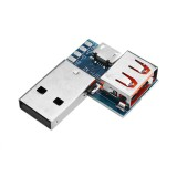 USB Adapter Board Micro USB to USB Female Connector Male to Female Header 4P 2.54mm