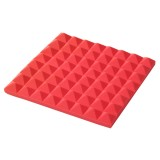 4pcs 50X50X5cm Acoustic Foam Egg Panels Tiles Studio Sound Proofing Treatment Absorption Soundproof Foam