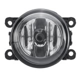 Car Front Bumper Fog Lights Lamp with H11 Bulb Yellow for Ford Acura Honda