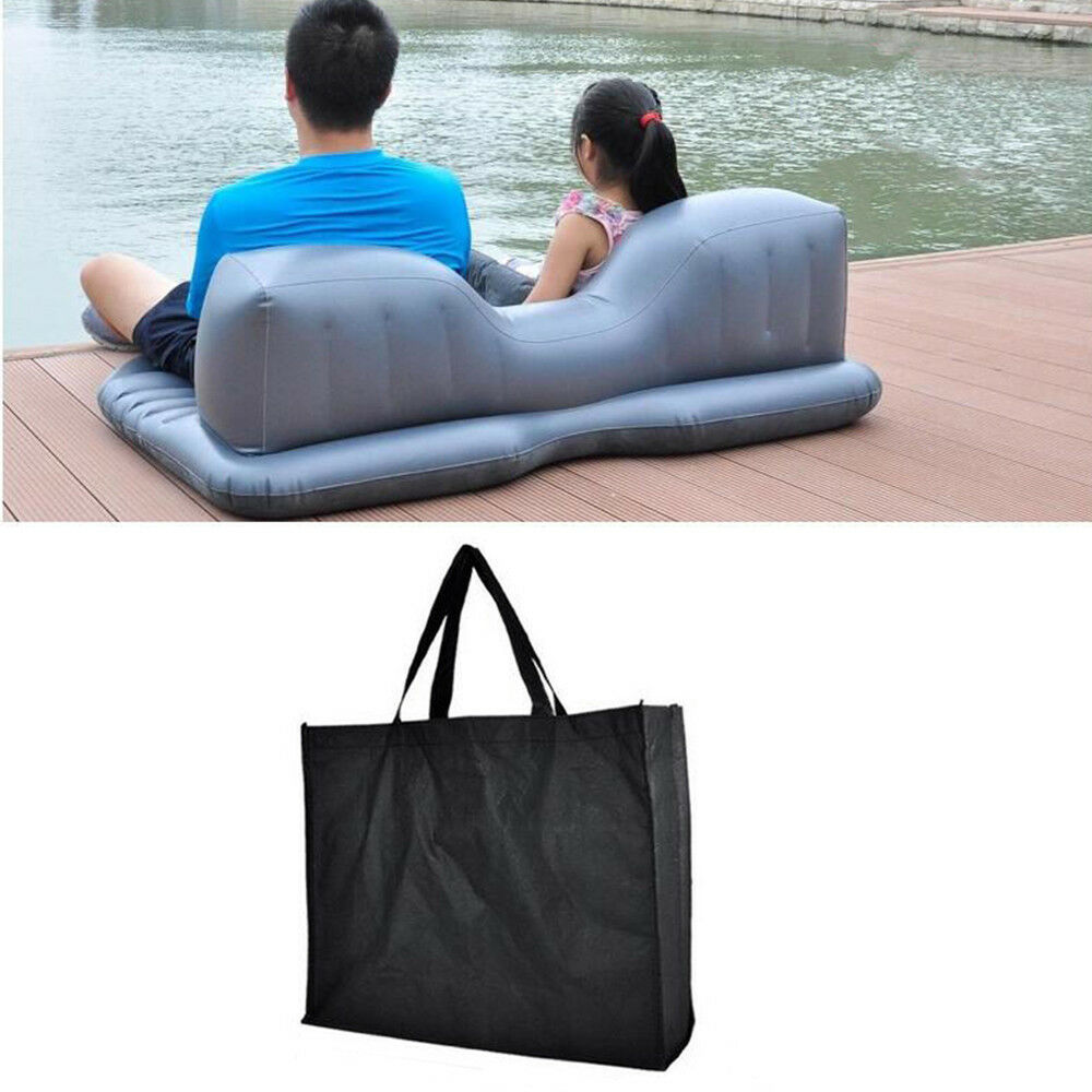 Inflatable Travel Car Air Mattresses Bed Rear Seat Sleep Rest Mat Pillow With pump Accessories