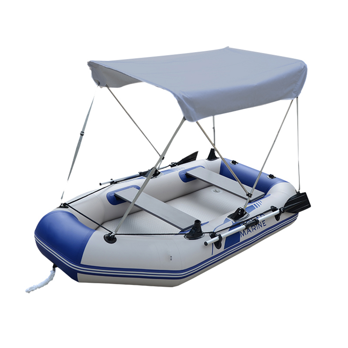 Anti-UV Top Canopy Tent Sunshade Boat Shade Metal Tube Waterproof For Canoeing Hook Outdoor ishing Sun Shelter Awning