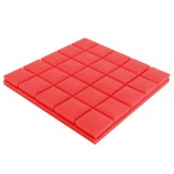 4Pcs 30x30x5cm Soundproof Foam Sound Absorbing Sponge For Piano Room Drum Studio