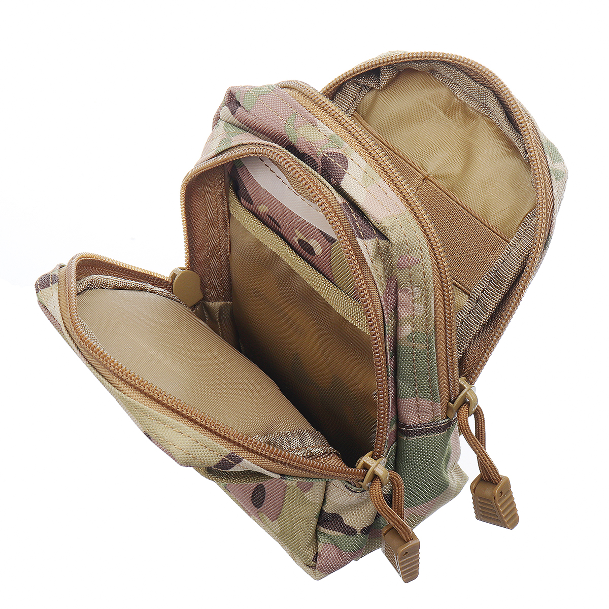 6 Inch Tactical Molle Pouch Waist Bag Phone Bag For Outdoor Sports Hiking Climbing