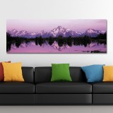 DYC 10357 Single Spray Oil Paintings Snow Mountain Photography For Home Decoration Paintings Wall Art